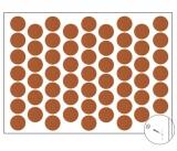 Самозалепващи тапи едноцветна круша