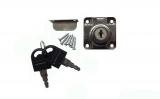 Квадратна ключалка с насрещник чупещ ключ Ф22 L20