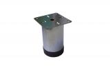 Метални крачета с пвц основа ф60 L10см