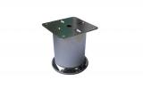 Метални крачета ф60 L8см с метална основа